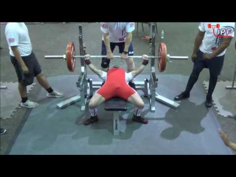 Sergey Gladkikh - 670kg 1st Place 66kg - IPF World Classic Powerlifting Championships 2016