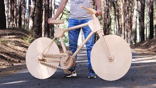 Video How to Make a Wooden Bike for 200 Hours MP3, 3GP, MP4, WEBM, AVI, FLV Desember 2018