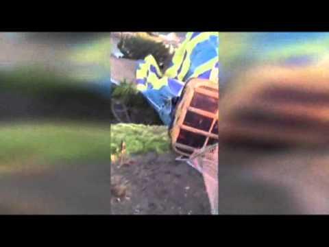 Wedding In Hot Air Balloon CRASHES! (VIDEO)