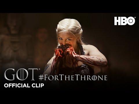 """""""Not a Queen, a Khaleesi"""" #ForTheThrone Clip   Game of Thrones   Season 1"""