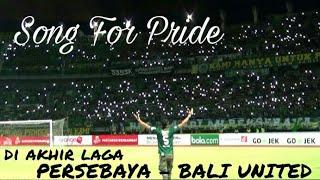 MERINDING..!! Song For Pride Untuk Kemenangan Persebaya yang dinantikan   GOR Bung Tomo