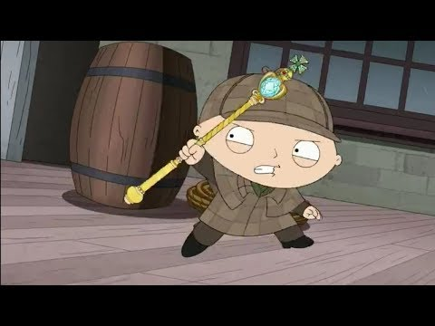 Stewie As Detective Sherlock Holmes - Family Guy 538434186166