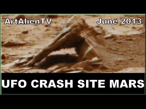 "UFO CRASH SITE MARS: Curiosity Sol 198 Anomalies 2013: Whores of Babylon ""Endless Journey"". 720p"