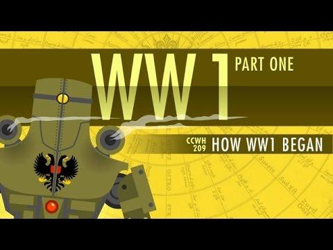 HOW World War I Started Crash Course World History 209