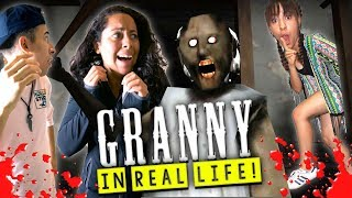 Granny Horror Game in Real Life!