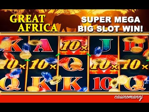 Great Africa Slot  – **SUPER MEGA BIG SLOT WIN** – Slot Machine Bonus