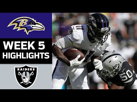 Video: Ravens vs. Raiders | NFL Week 5 Game Highlights