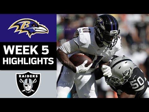 Ravens vs. Raiders | NFL Week 5 Game Highlights - Thời lượng: 7:06.