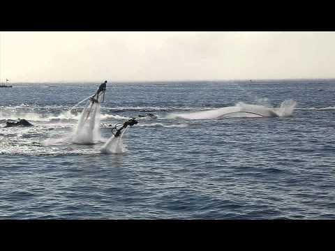 人類竟然可以在海面上飛起來?最新海上飛行運動!!