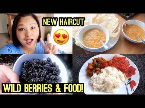 (My New Haircut Revealed || Wild Berries & Lots of Foooood! - Duration: 13 minutes.)