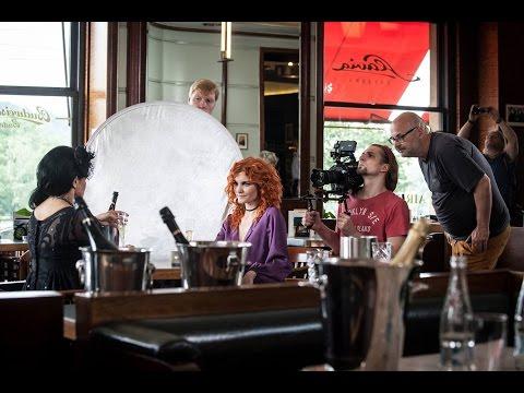 Iva Marešová, Aliaksandr Yasinski, Michael Vašíček - dokument z natáčení videoklipu