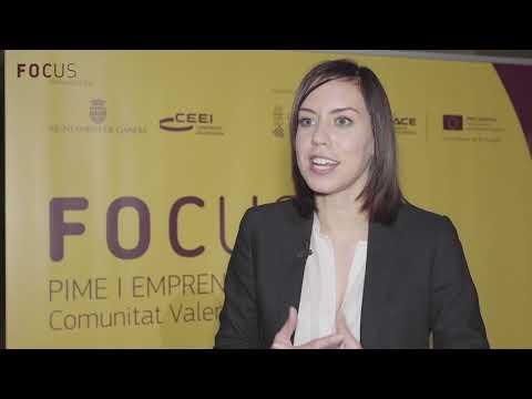 Diana Morant en Focus Pyme y Emprendimiento Comunitat Valenciana 2018