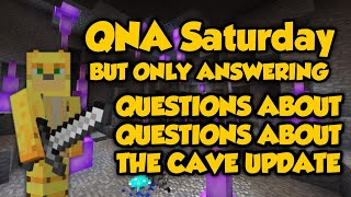Answering Questions About Questions About A Cave Update