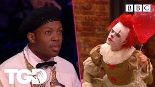 Dancing clown Harrison leaves the Audience stunned | The Greatest Dancer | Auditions Week 1