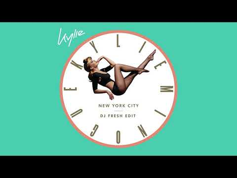 Kylie Minogue - New York City (DJ Fresh Edit) (Official Audio)