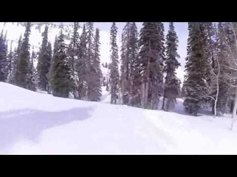 Powder Mountai - Cat Skiing Motherlode - K2 - Candyland (видео)