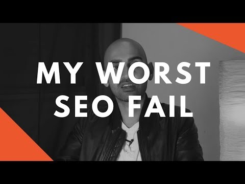 My Biggest SEO Fail (Unbelievable Rookie Mistake)