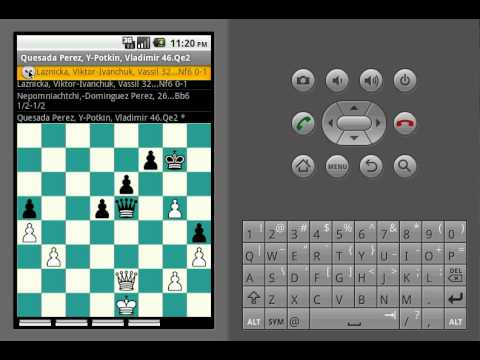 Video of Free Chess PGN Browser