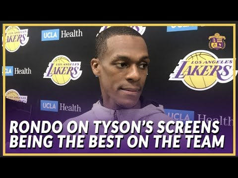 Video: Lakers Interview: Rondo On Integrating Tyson Chandler On Offense and Returning to Sacramento