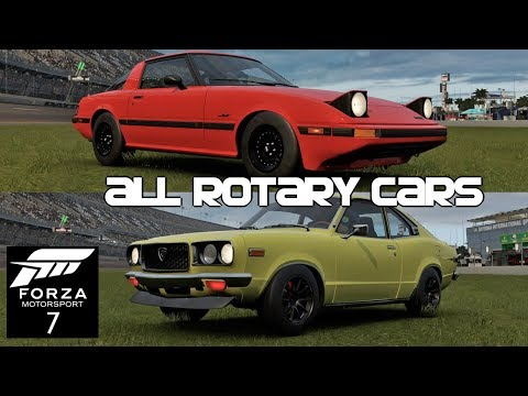 All Rotary Cars In Forza 7! [FM7]