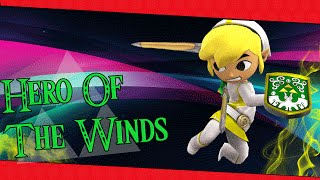 【SSB4】Hero Of The Winds – A Toon Link Montage/Combo Video