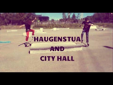 SKATE HAUGENSTUA AND CITY HALL OSLO