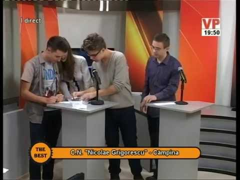 """Preselecții The Best – 13 octombrie 2014 (III) – Colegiul Național """"Nicolae Grigorescu"""" Câmpina"""