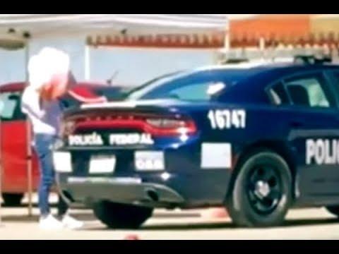 Cachan a patrulla abasteciéndose con gasolina robada