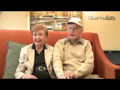 WATCH!  Adorable Couple's Advice For Making A Marriage Last 69 Years!