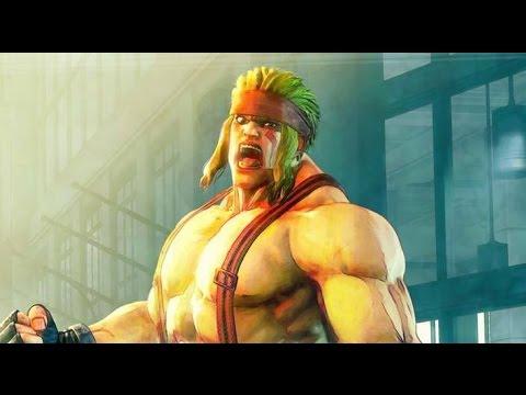 Alex - tryb fabularny w Street Fighter V. Masywny grappler z trójki powraca!
