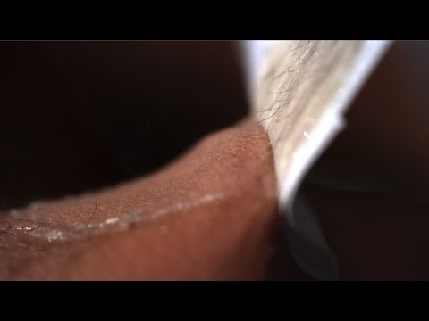 The Slow Mo Guys Waxing Hairy Legs in Slow