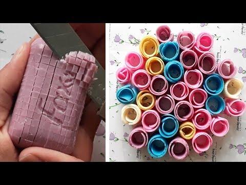 Satisfying Soap Cutting Videos #44 [Soap ASMR]