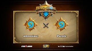 Amnesiac vs Purple, game 1