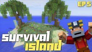 Minecraft Xbox 360: Hardcore Survival Island - Part 5! (CREEPERS!)