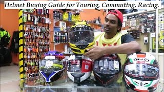 Video Motorcycle Helmet Buying Guide for Touring, Commuting, Racing. MP3, 3GP, MP4, WEBM, AVI, FLV Oktober 2017