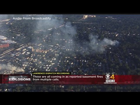 Merrimack Valley Explosions: Lawrence Fire Dispatch Recordings