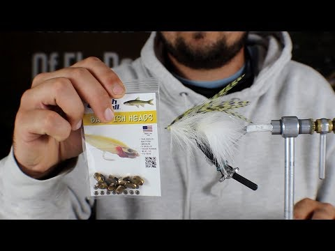 Fly Tying: Baitfish Head Home Invader (видео)