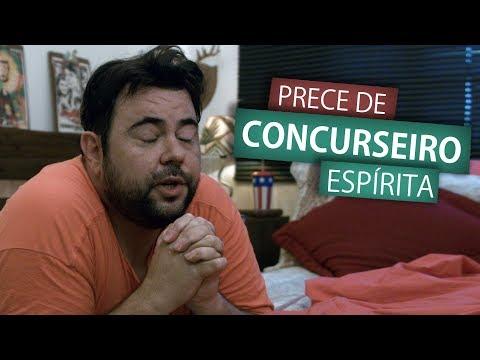 PRECE DE CONCURSEIRO ESPÍRITA (Humor e Espiritismo)