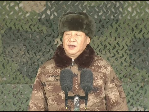 Xi Issues New Year Orders to Army, Stressing Real Combat Training