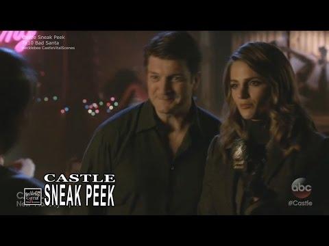 """Castle 7x10 Sneak Peek # 1 """"Bad Santa"""" (HQ/cc) Season 7 Episode 9 Sneak"""