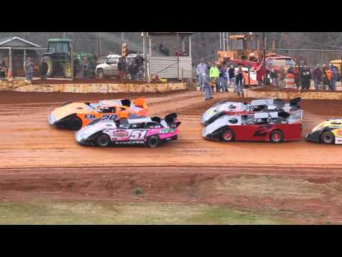 Dirt Track Racing 2/23/13 411 Motor Speedway LLM Heat – Sweetheart 52