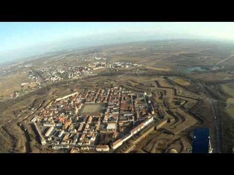 la città ottagonale di neuf-brisach