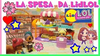LOLLINA e PUNK BOI comprano casa alla LIDLol ! Storia Lol Surprise By Lara e Babou