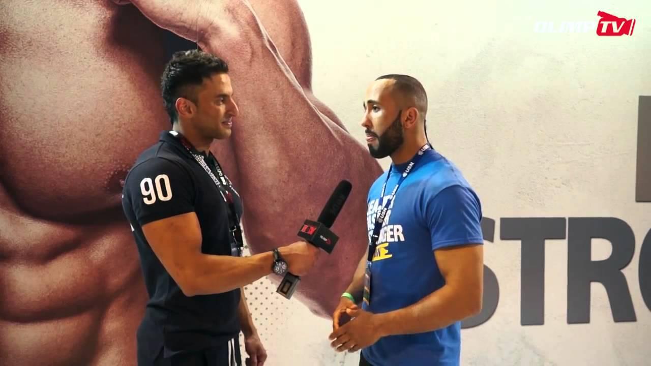 UTC's Joe Silk Cummins Interview at Bodypower 2013