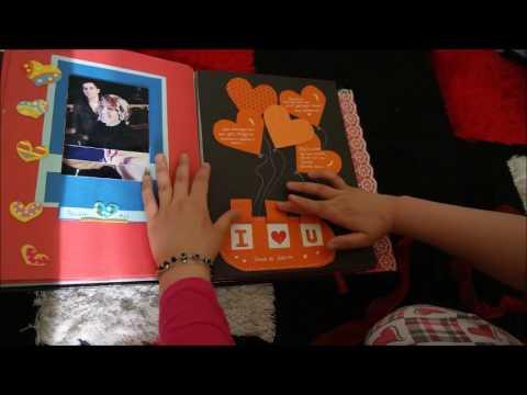 sevgiliye anı defteri scrapbook (özlem ve ali)