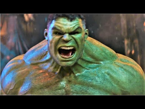 Avengers Infinity War - Thanos Vs Hulk Fight Scene (1/10) [HD Bluray]