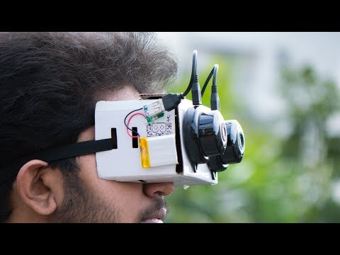 How to make 3D Night Vision Goggles using VR