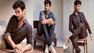 Sushant Singh Rajput's dapper avatar in his new photoshoot