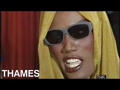 Grace Jones interview | View to a Kill Premier | James Bond | 1985