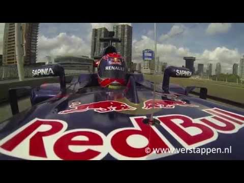 scuderia - Verstappen Info Page - Using this video without permission is forbidden - Max Verstappen in Scuderia Toro Rosso Formula 1, Erasmusbrug Rotterdam, VKV City Racing.